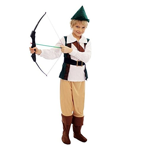 Kostüm Kinder Jäger - Henbrandt jungen Robin Hood Style Kostüm gr. M