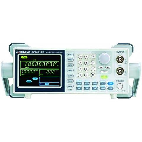 GW Instek AFG-2105 - Generatore di forme d'onda a segnali arbitrari DDS, con funzioni varie, (5 Mhz Generatore Di Funzioni)