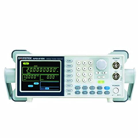 GW Instek AFG-2105 Arbitrary DDS Function Generator with Counter, Sweep, AM, FM and FSK Modulation, (5 Mhz Generatore Di Funzioni)