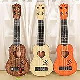 SODIAL Instrument de musique Mini-Ukulele Enfants Guitare Jouets Ecole Creative Jouer au jeu Couleur Aleatoire...