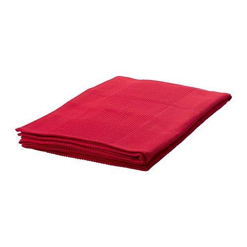 best service 2e40d 0ae81 Ikea Indira - Copriletto plaid coperta 150 x 250 cm - Rosso ...