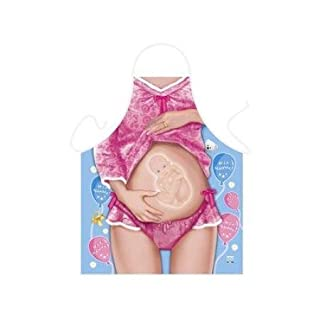 Tobeni 1789 Barbecue Apron Baby On Board Design