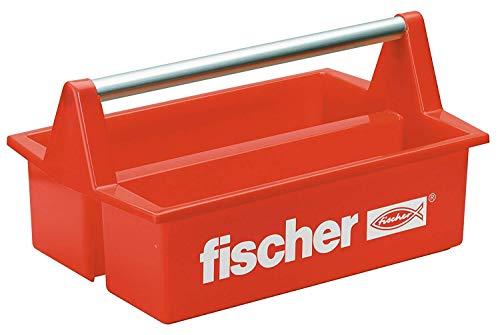 fischer  Werkzeugkasten Plastik Rot -