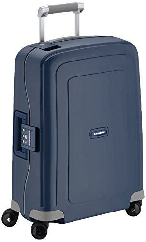 Samsonite S'Cure Spinner 55/20 Koffer, 55cm, 34 L, Dark Blue (Spinner Cabin)