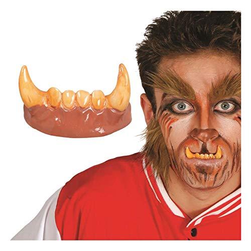 Kostüm Wolfman Kinder - Islander Fashions Erwachsene Halloween Kost�m Vampire Fangs Unisex Zombie Z�hne Kost�mzubeh�r / Wolfman Z�hne