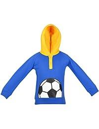 Gkidz Infants Full Sleeve Royal Hooded Sweatshirt (INF_WWB-001-ROYAL_Royal)