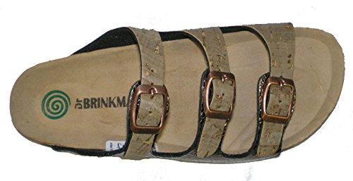 Dr.Brinkmann 701037-2 femme clogs & mules brunes