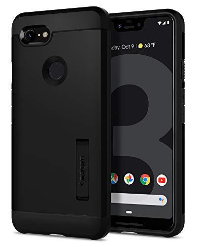 Spigen Tough Armor, Google Pixel 3 XL Hülle, F20CS25024 Stoßabweisende Doppelte Schutzschicht Handyhülle für Extrem Fallschutz Schutzhülle Case (Schwarz)
