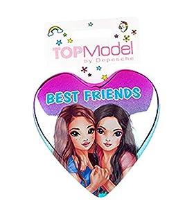 Depesche 85331-Cepillo de Pelo TOPModel, Best Friends, Multicolor
