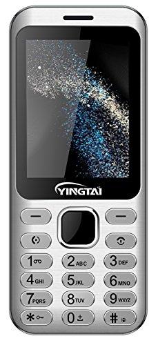 YINGTAI S1 2G Senioren-Handy mit großem Tasten und Mobiltelefon Einfach zu Bedienendes (Grau)