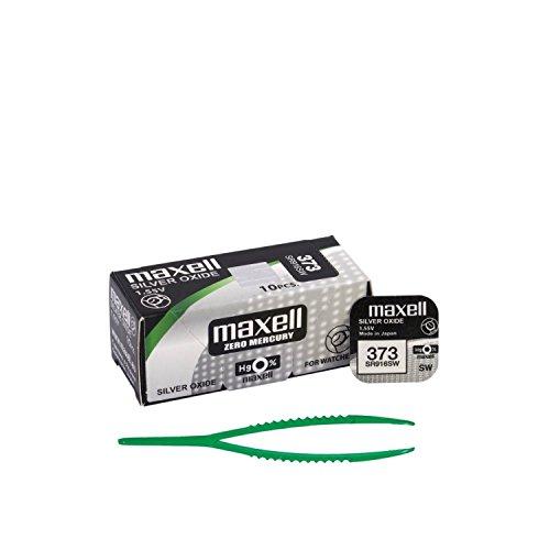 Preisvergleich Produktbild Maxell 373 SR916SW 10 x Knopfzellen