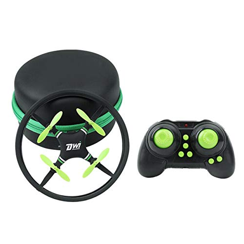 BEESCLOVER Mini Super Durable Nano Drone Space Trek 2.4GHz 4-Axis 4CH RC Quadcopter Remote Control Toys RC Helicopter Green