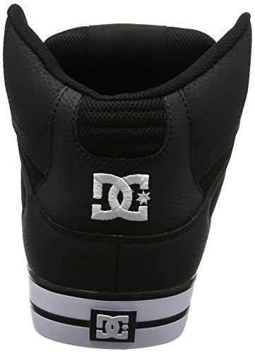 DC Shoes Spartan High WC, Sneakers Basses Homme Multicolore (Black/red/black - Combo)