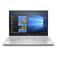 HP Envy 13-ah0001ne Laptop, Intel Core i7-8550U, 13 Inch, 512GB SSD, 16GB RAM, Intel UHD Graphics, Win 10, Eng-Ara KB, Silver