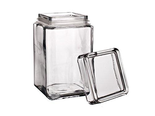 Pasabahce–Jarra de cristal para galletas, tapa con cierre hermé