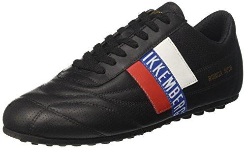 Bikkembergs Soccer 2102 Sneaker Uomo, Nero 40 EU
