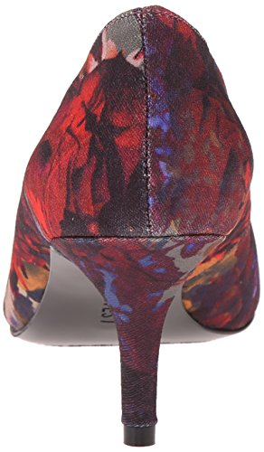 Pompa Nine West Margot Fabric Dress Red/Multi