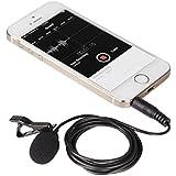 BOYA BY-LM10 smartphone omnidireccional lavalier micrófono de condensador Solapa 3.5mm Conexion para iphone7 6 6 s 5s sumsang galaxy teléfono grabación de emision