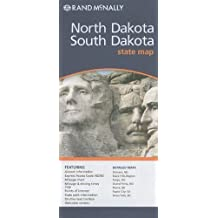 Rand McNally North Dakota/South Dakota State Map (Rand McNally State Maps) by Rand McNally and Company Map Edition [Map(2010/2/24)]