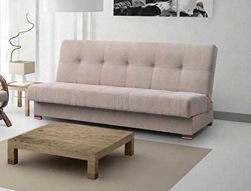 mb-moebel Couch mit Schlaffunktion Sofa Schlafsofa Wohnzimmercouch Bettsofa Ausziehbar – Yokohama