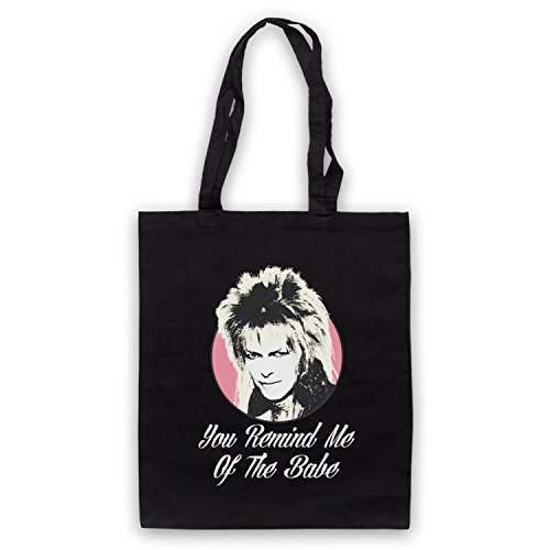 Inspire par Labyrinth Goblin King You Remind Me Of The Babe Officieux Sac d'emballage Noir