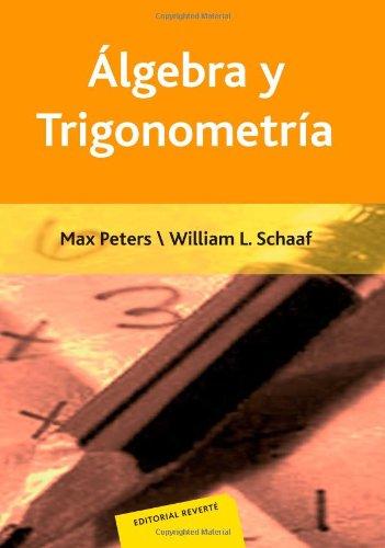 Álgebra y Trigonometría