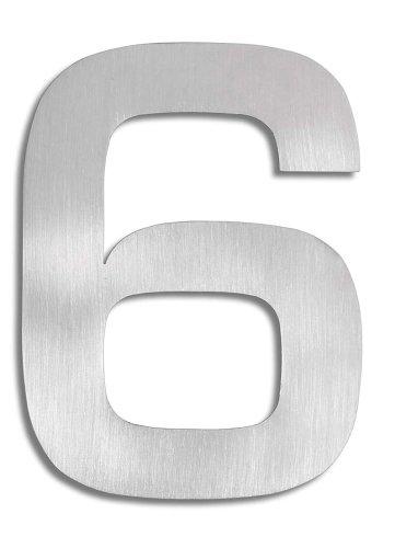 Hausnummer 3D-Hausnummer 6