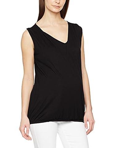 New Look Maternity Nursing Wrap, T-Shirt de Maternité Femme, Noir, 44