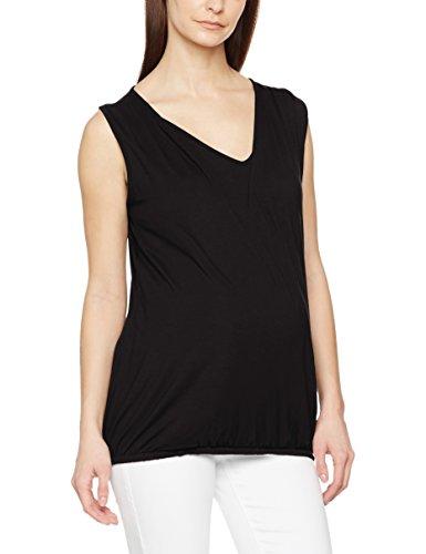 New Look Maternity Damen Schwangerschafts-T-Shirt Nursing Wrap, schwarz(Black),  38 EU (10 UK) -