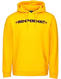 Independent Sudadera con Capucha Infantil Bar Cross Amarillo
