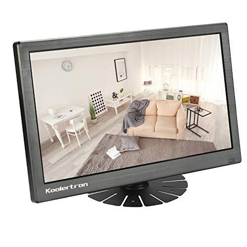 11,6 Zoll Monitor, 1920 x 1080 IPS Tragbarer LCD HD Bildschirm Monitor mit VGA HDMI Lautsprecher mit 3,5-mm-Kopfhöreranschluss für PC, Laptop, Überwachungskamera, PS4, PS3, Xbox, Switch, Raspberry Pi