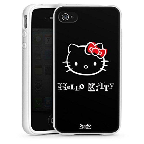 DeinDesign Apple iPhone 4s Silikon Hülle Case Schutzhülle Hello Kitty Merchandise Fanartikel Love