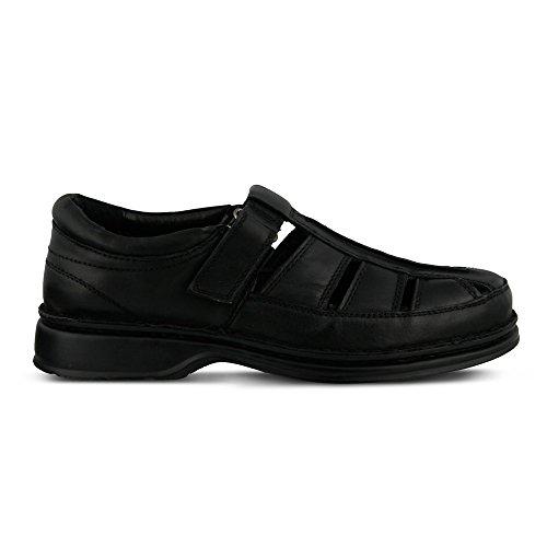 Fly Flot - Rylan da uomo Black Leather