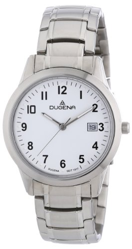 Dugena Classic Gents Watch Quartz Watch With Metal Strap  4460317