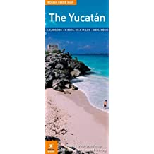 Rough Guide Map Yucatan