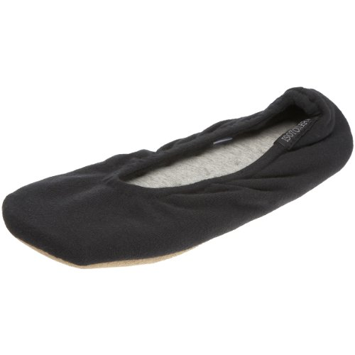 isotoner-stretch-jersey-ballet-womens-low-top-slippers-black-black-m-uk-37-38-eu