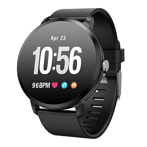 Fitness Tracker Smart Watch, Activity Tracker mit Pulsmesser, Farbbildschirm Fitness Watch mit Anruferinnerung Schlafmonitor Blutdruckmonitor Schrittzähler, Schrittzähler Uhr, IP67 Wasserdicht (V11-B)