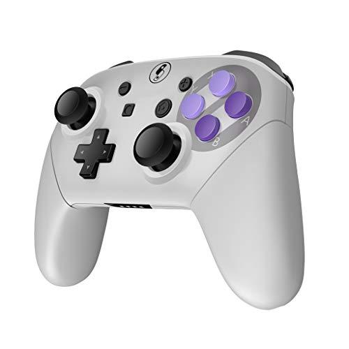 OPmeA Controller Ersatz Knopf und Griff Super Switch DIY Panel und Rückseite Shell Gamepad Mobile Game Controller