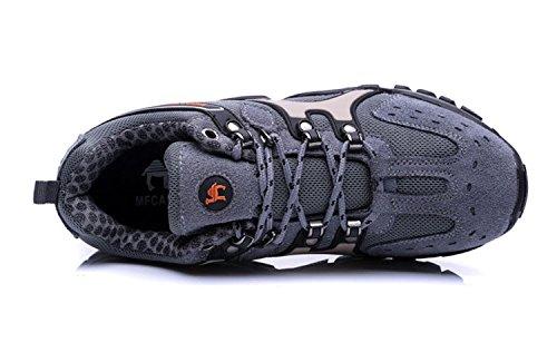 Gaorui scarpe sportive, uomo, estate, outdoor, passeggiate, hiking Verde