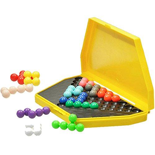 ogic Puzzle Kinder Mind Brain Teaser Perlen Puzzle Spiel für Kinder Erwachsene (Brain Teaser Für Kinder)