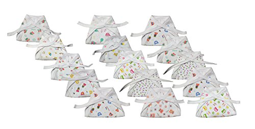Montu Bunty Wear New born Baby Cotton Cloth Nappies(Pack of 15)