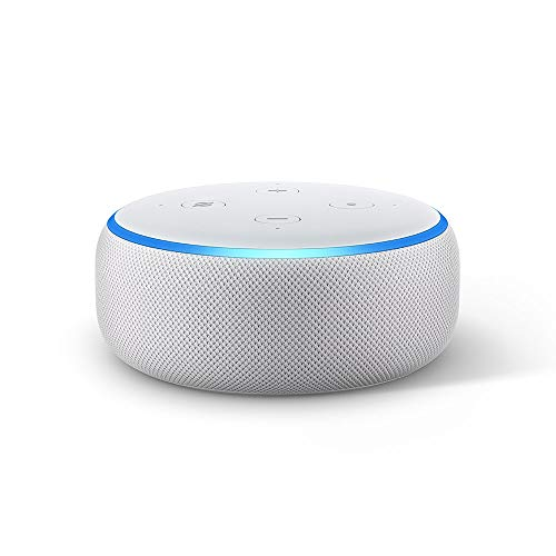 All-new Echo Dot (3rd Gen) - Smart speaker with Alexa - Sandstone Fabric