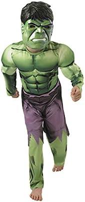 Disfraz infantil, diseño de Hulk de Marvel, superhéroe de Los Vengadores, musculoso, monstruo Frankenstein, ideal para carnaval