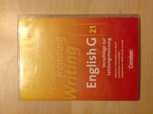Cornelsen English G 21: Vorschläge zur Leistungsmessung. Ausgabe B1