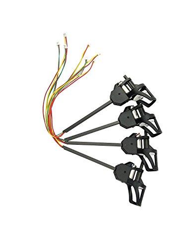 Fytoo 4pcs Motor für UDI U817 817C U817A U818A RC Quadcopter Im Uhrzeigersinn und gegen den Uhrzeigersinn Motor