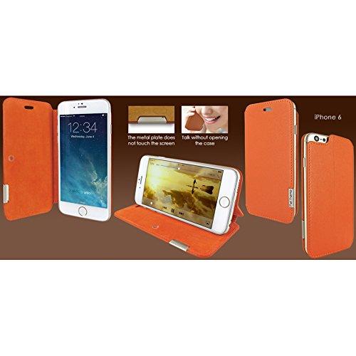 Piel Frama 677SWB PIELFRAMA 677SWB Swaro Case für Apple iPhone 6 in blau orange