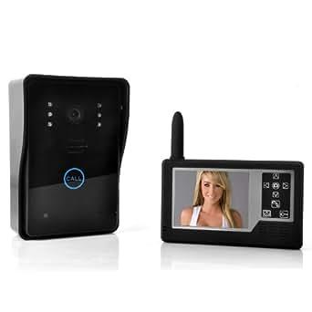 SHOPINNOV Interphone audio et vidéo sans fil Bouton tactile