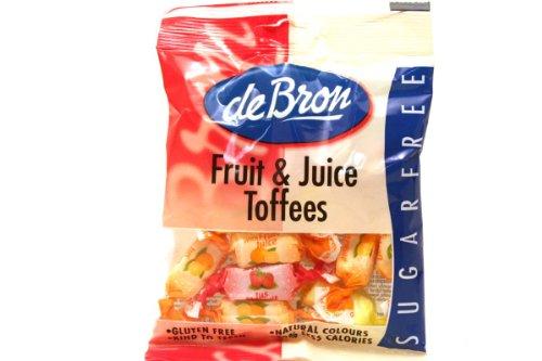 deBron Low Carb Frucht-Kaubonbons 90g