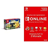 Nintendo Switch Pokémon: Let?s Go, Pikachu! Bundle + Switch Online Mitgliedschaft 3 Monate [Switch Download Code]