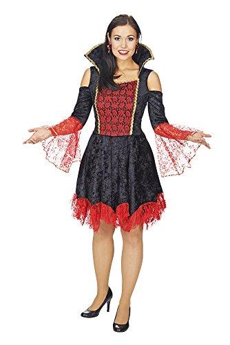Gothic lady costume da donna nero 50/52